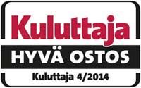 Kuluttaja lehti Hyvä ostos ompelukone 2014